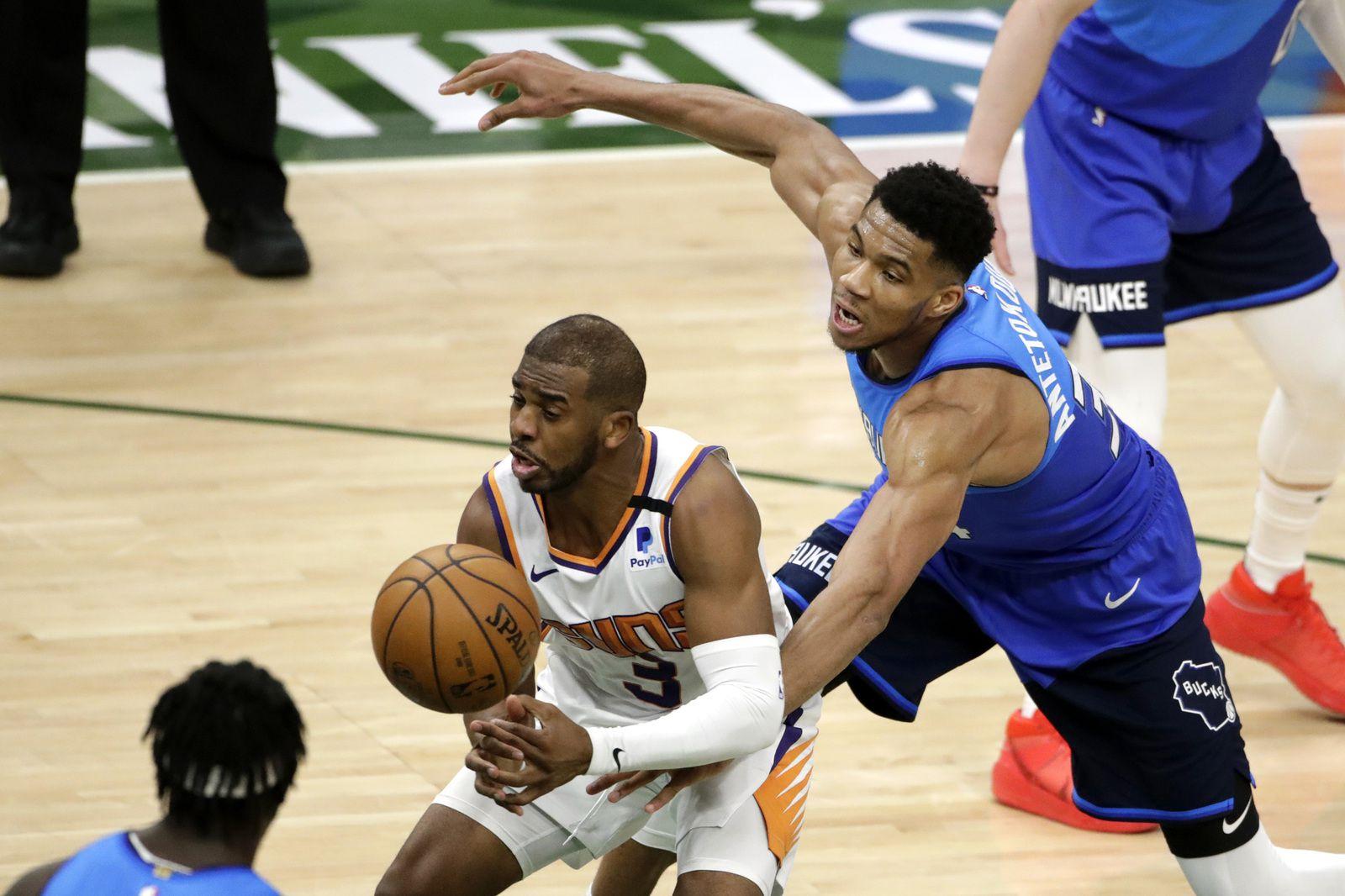 Finales NBA : tout dépendra de Giannis Antetokounmpo