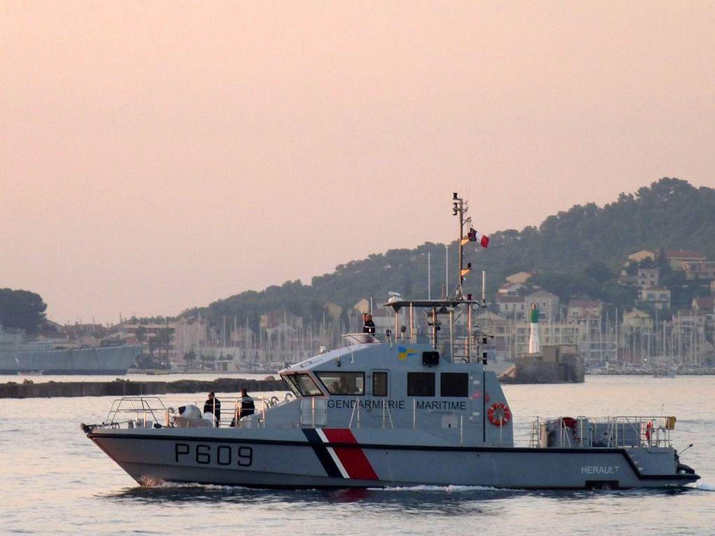 HERAULT  P609 , Vedette  Cotière de Surveillance Maritime , (VCSM)