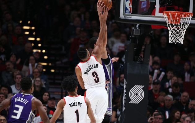 Les Blazers relancent la machine face aux Kings