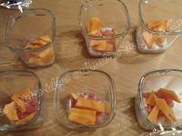 Œufs cocotte bacon et mimolette