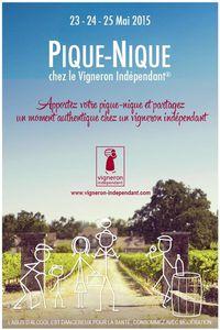 # PIQUE-NIQUE au Domaine de Cézin chez Amandine et Xavier FRESNEAU DIMANCHE 24 MAI 2015 #vigneronindep