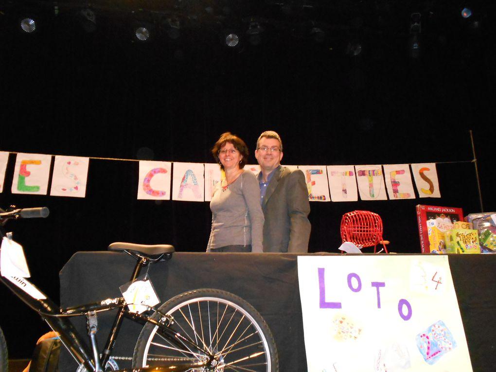 Loto + Fête du livre 2013