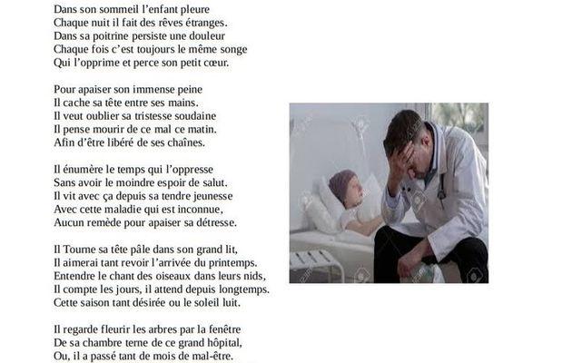 Les poèmes de Marc Benredjem (28) L'enfant malade
