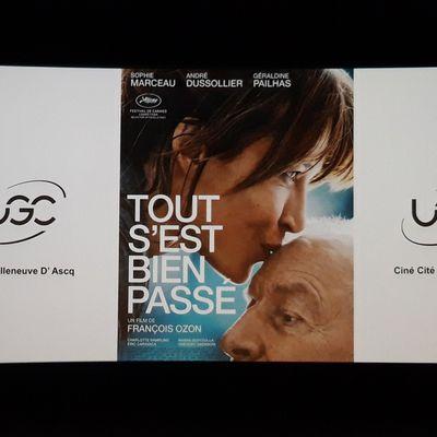 """AP du film """" TOUT S'EST BIEN PASSÉ """" à UGC de va ( déjà vu)"""