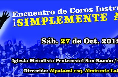 Diseño de Afiches-Portadas para Facebook Iglesia Metodista Pentecostal de Chile San Ramón