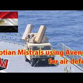Egyptian Mistrals using Avengers for air defence