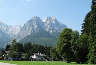 Randonnée dans le Zugspitze