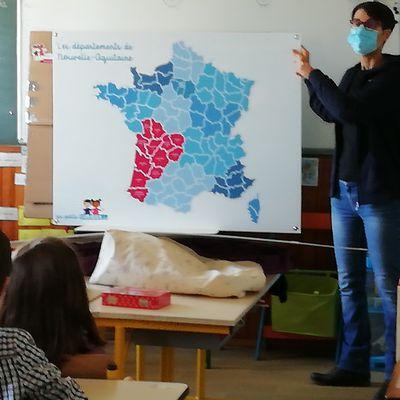 Les Petits Curieux du CE1 à la découverte du Lot-et-Garonne...