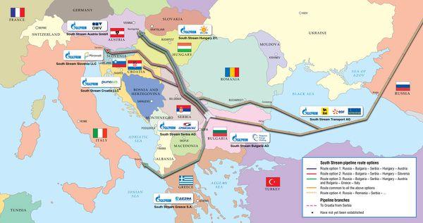 El Kremlin sí tiene un especial interés por consolidar sus relaciones con el Gobierno griego para garantizar su principal apuesta energética respecto de la UE. Se trata del gaseoducto South Stream, uno de cuyos ramales está previsto que discurra desde Grecia hasta el sur de Italia.