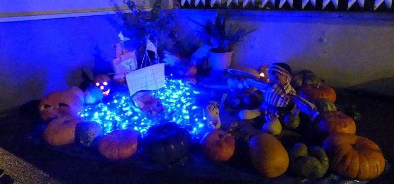 la fête du potiron à Logelheim dimanche soir 22 octobre 2017
