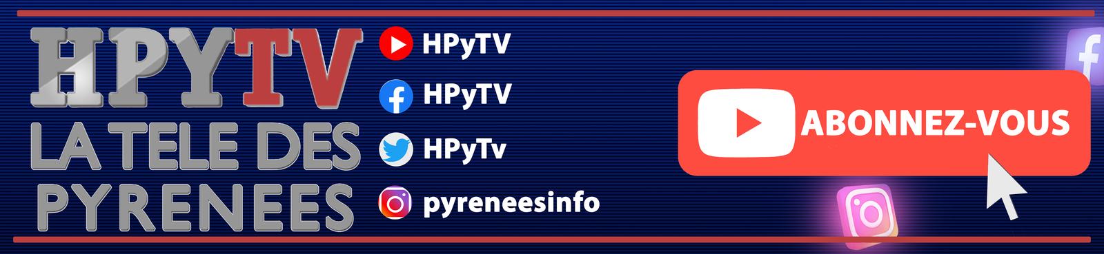 La Télé des Pyrénées sur YouTube