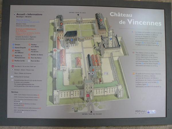 Château de Vincennes et Parc floral (Arbres, Fleurs et Bonzaïs)le 2 juin 2008.