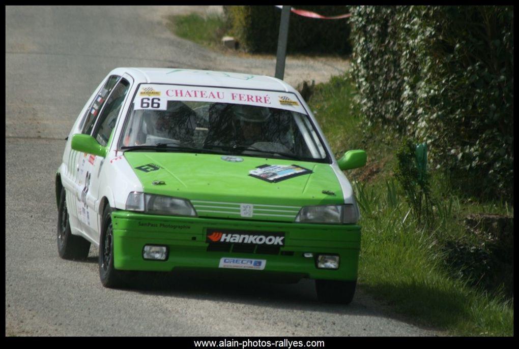 Rallye régional comptant pour la coupe de France 2016 et pour le comité d'Aquitaine.