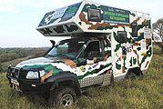 Découverte : camping-car UAZ Patriot Cargo.