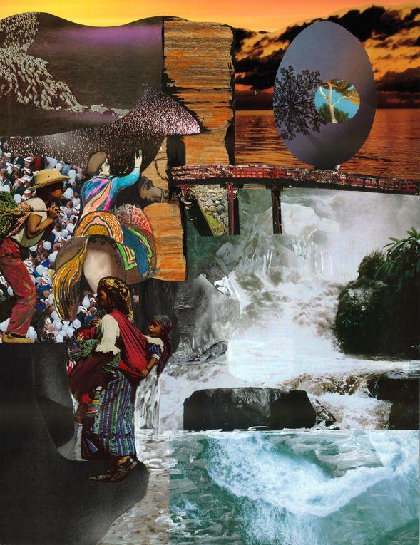 Album - Croquis Dessins Collages Peintures