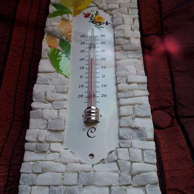 """Thermomètre """"Le floréal de juin"""""""