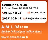 A.M.I Réseau :  Nouveau site WEB www.amireseau.fr