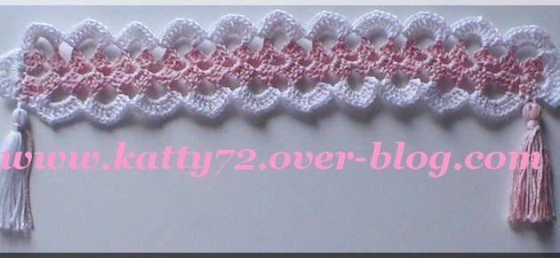 Crochet : Marque page 6