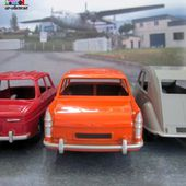 PEUGEOT 404 BERLINE ORANGE DINKY TOYS REEDITION ATLAS 1/43 - car-collector