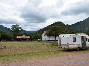 Quebrada de las conchas - Alemania, Argentine en camping-car