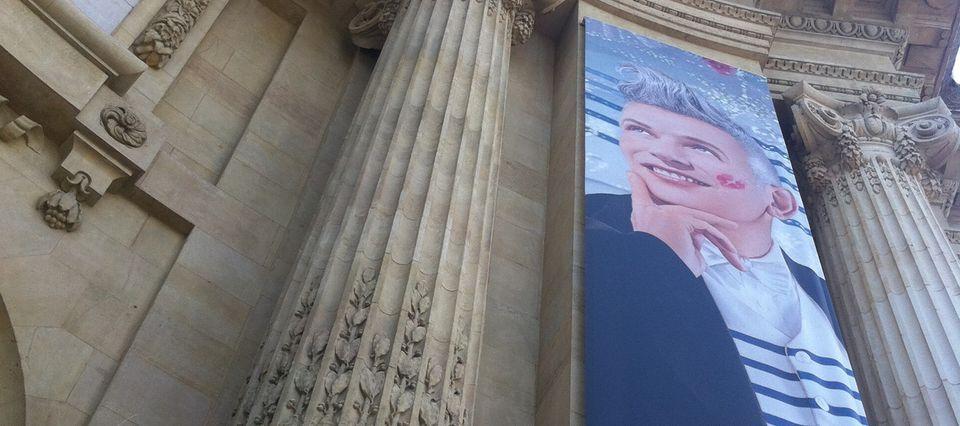 Jean Paul Gaultier au grand palais.