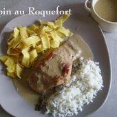 Lapin à la crème de Roquefort, de Mamigoz - Chez Mamigoz