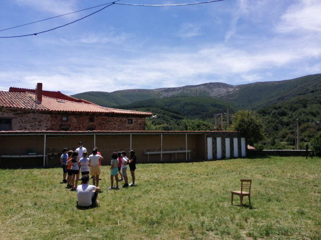 Tercer día de campamento en Pineda de la Sierra