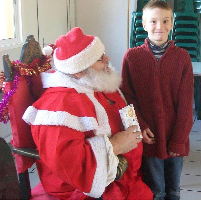 Le père Noël à Feugarolles !
