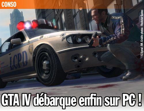GTA IV débarque enfin sur PC !