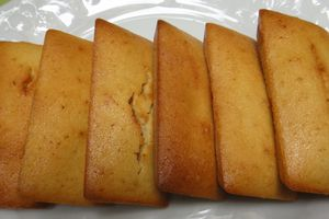 Financiers miel & gingembre
