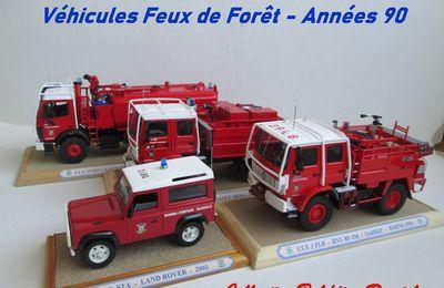 BMPM : véhicules feux de forêt des années 90 (par Daniel Baldjian)