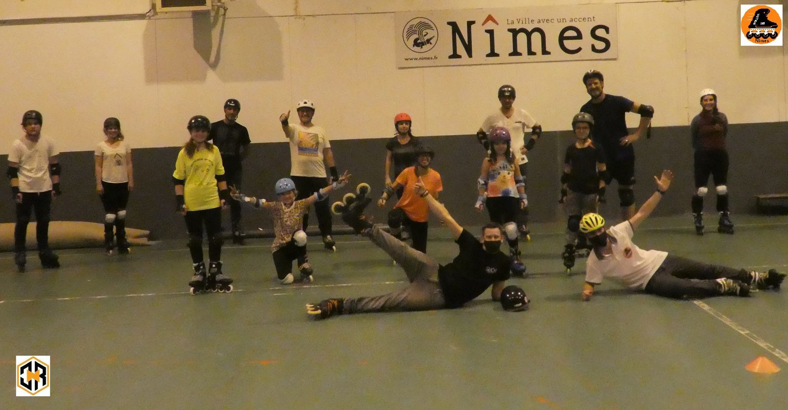 Clic N Roll, Roller Lib, Nimes, alexis vives, bolton, stage, free style, club, sport, patin