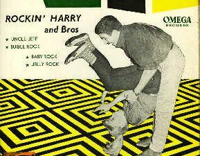 """rocking harry & bros, l'autre pseudonyme de harry frékin dont le véritable nom est henri van cole et ce grand hit """"faut pas m'énerver"""""""