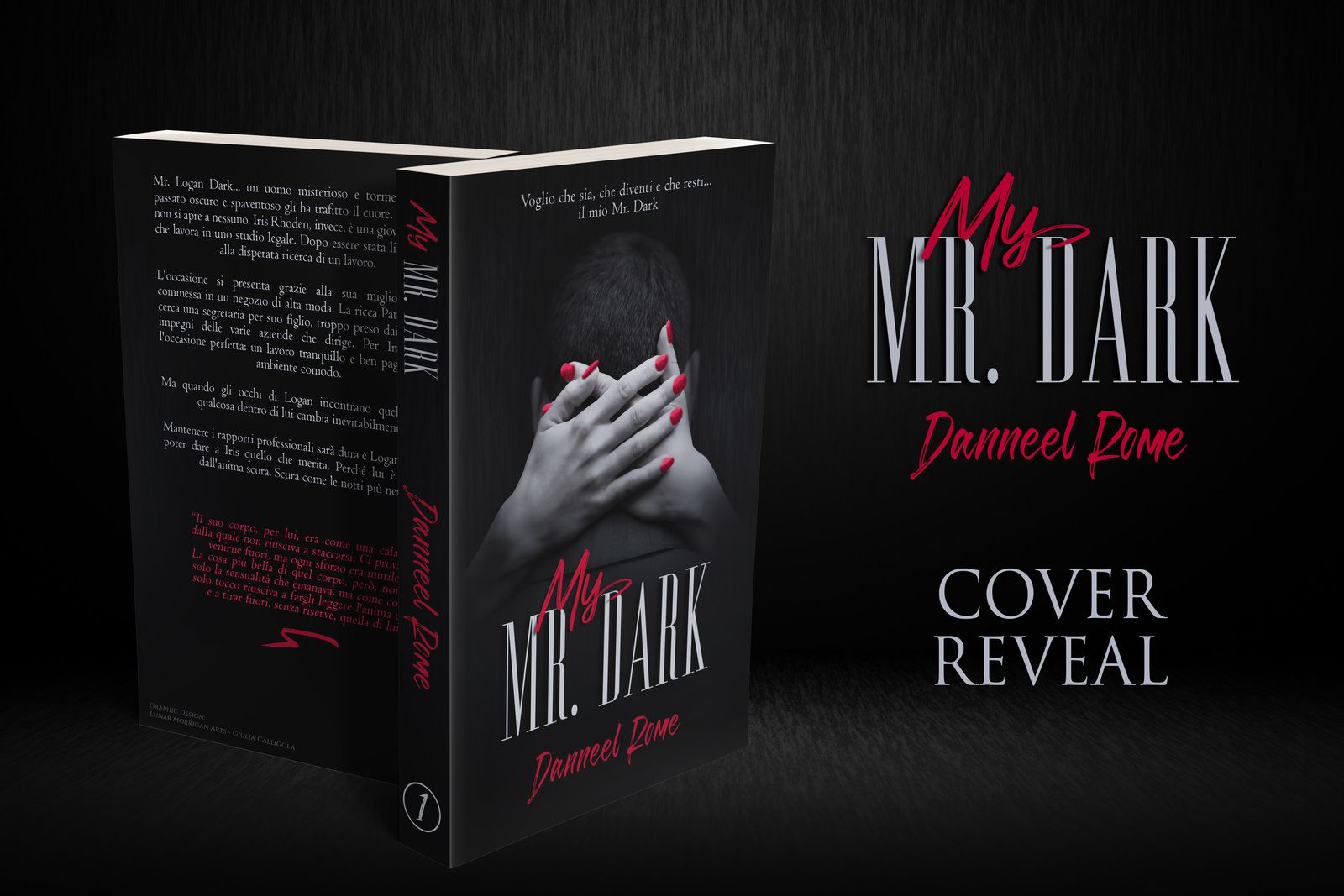 Cover Reveal : My Mr Dark