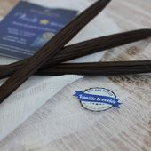 La Vanille Bleue - Partenariat L'Escale Bleue - Ma Cuisine Bleu Combava