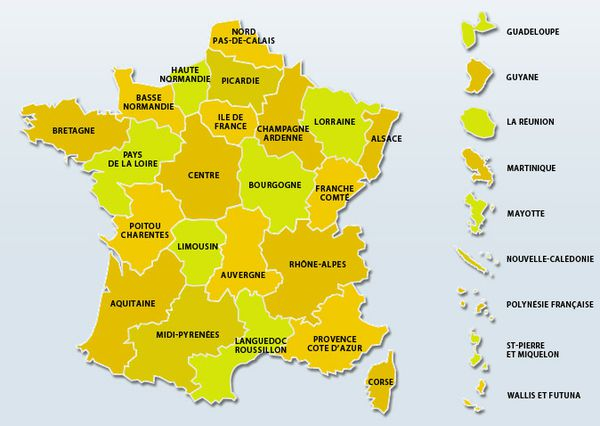 Carte interactive des écoles