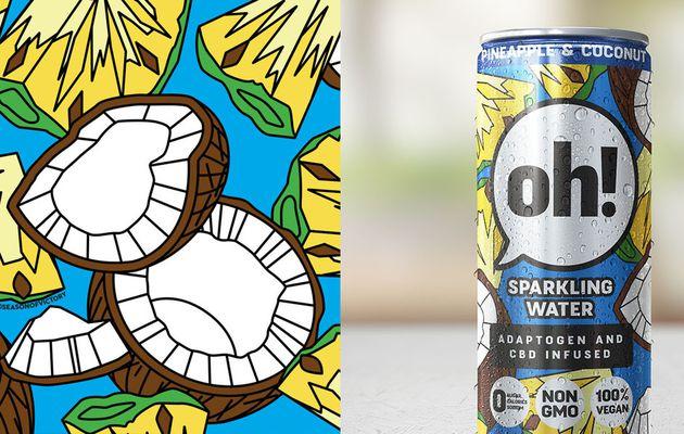 Packaging : Oh! Sparkling Water est vraiment au top !