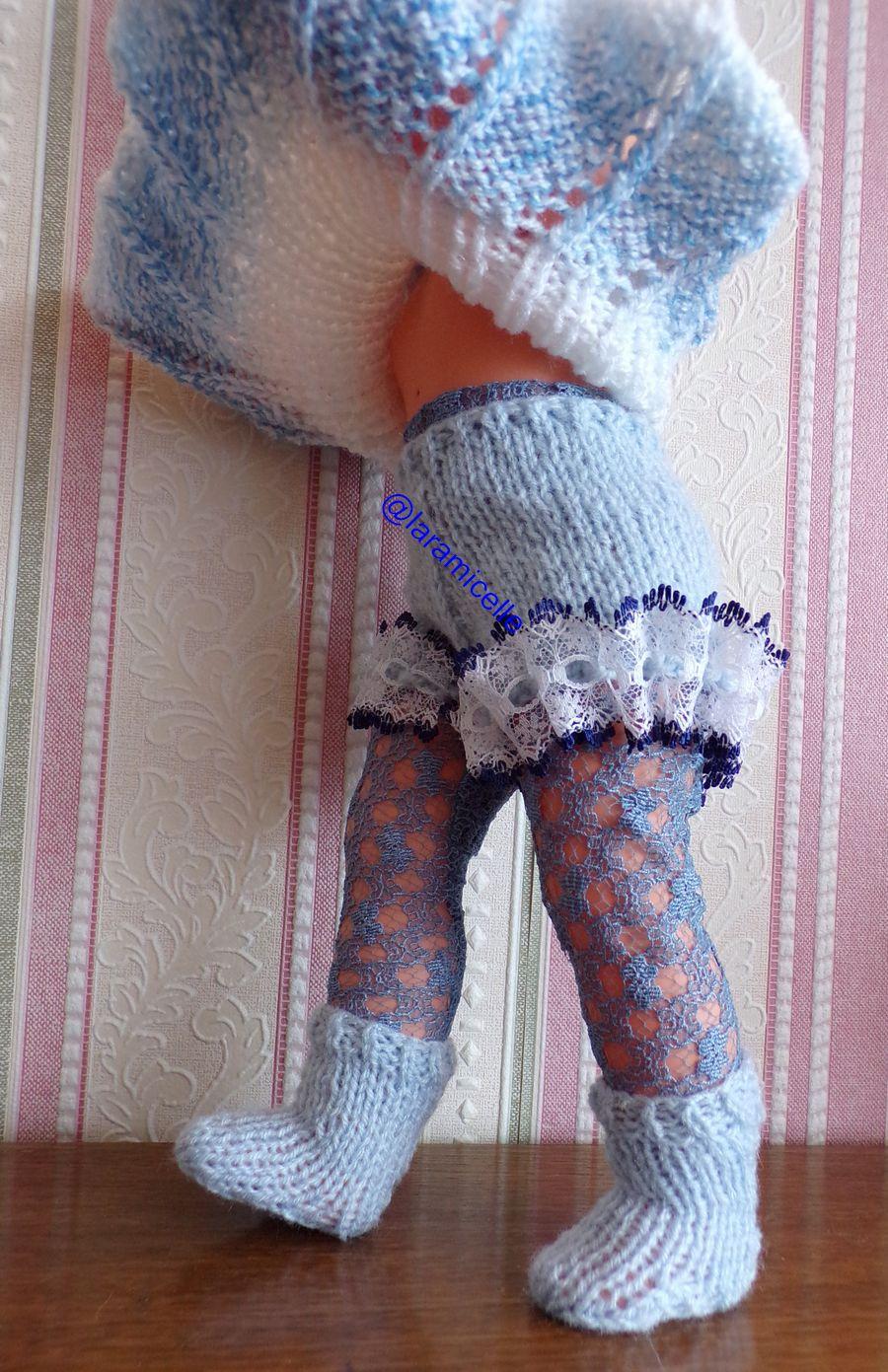 tuto gratuit poupée:  shorty à dentelle