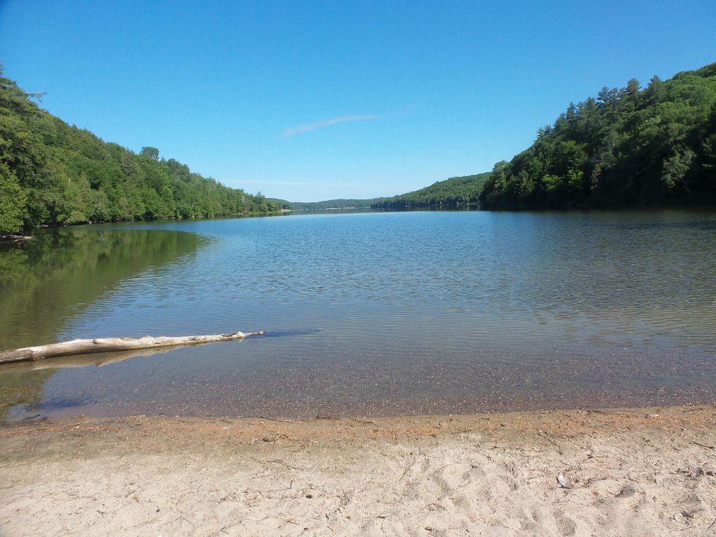 Le lac Philippe est magnifique à toute heure du jour