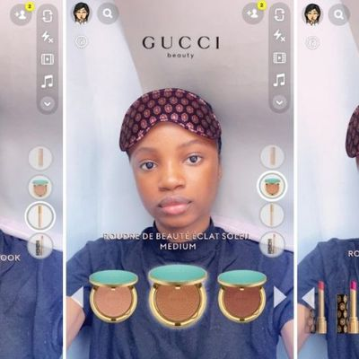 Social Media : Gucci Beauty capte les cibles avec Snapchat