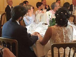Les discours... émotions garanties ! Dans l'ordre : celui de JM & eMmA et les mariés les écoutant, celui du frère de la mariée Ahsan, celui des mariés et d'autres dont je n'ai pas les photos...