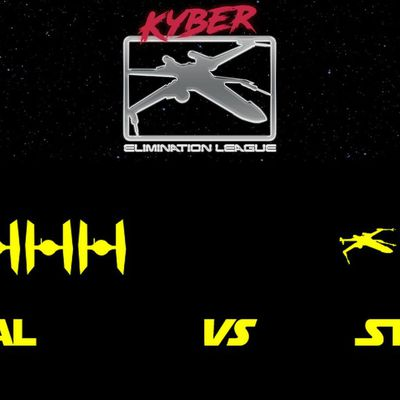 Kyber Elimination League, season 6, round 1: Nébal (First Order) vs Stevie B (Rebel Alliance) (battle report in English)