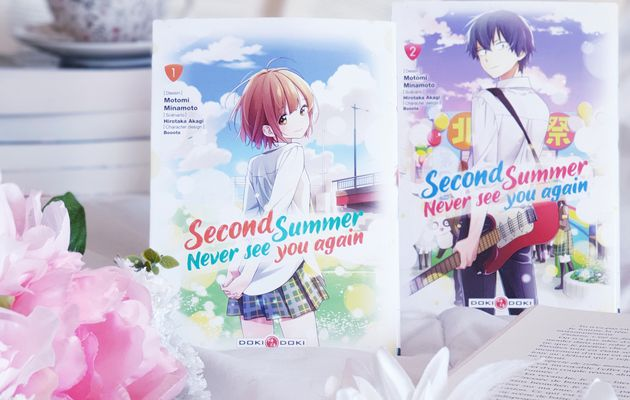 SECOND SUMMER, NEVER SEE YOU AGAIN T01 & T02 > MOTOMI MINAMOTO & HIROTAKA AKAGI