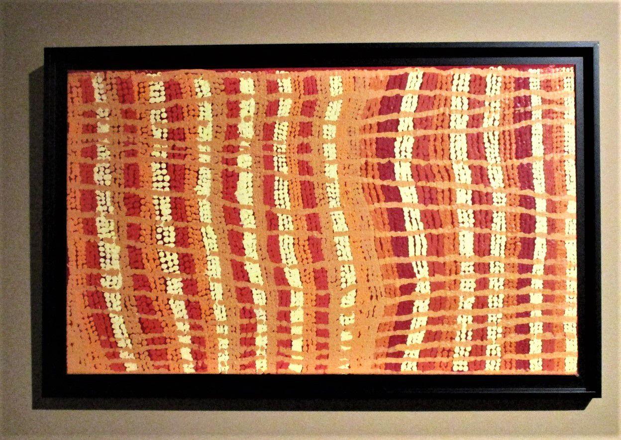 Yinirnti Jukurrpa (Bean-tree Dreaming) - Long Maggie Nakamarra, 2009