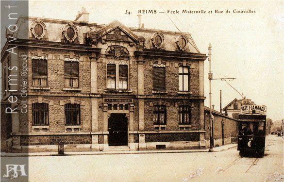 L'Ecole maternelle de la rue de Courcelles