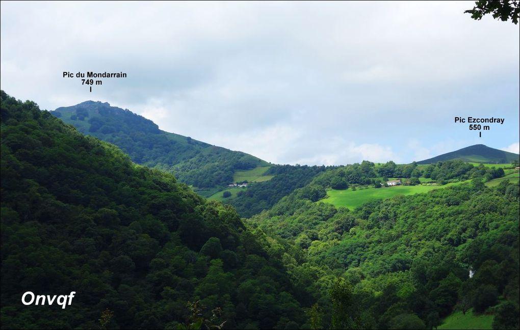 Pic du Mondarrain via Itxassou (Pyrénées-Atlantiques 64) AA Rando
