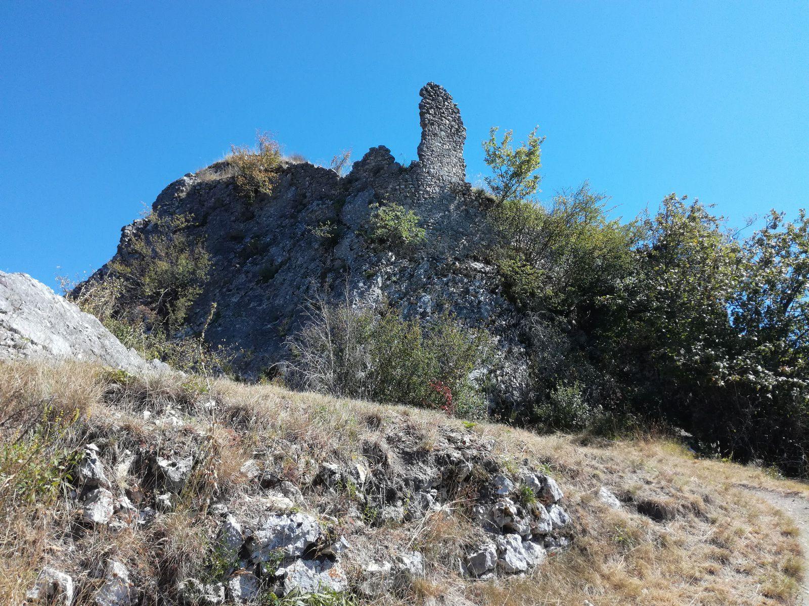 à partir des hauteurs de Pont-en-Royans sur le circuit des 3 châteaux