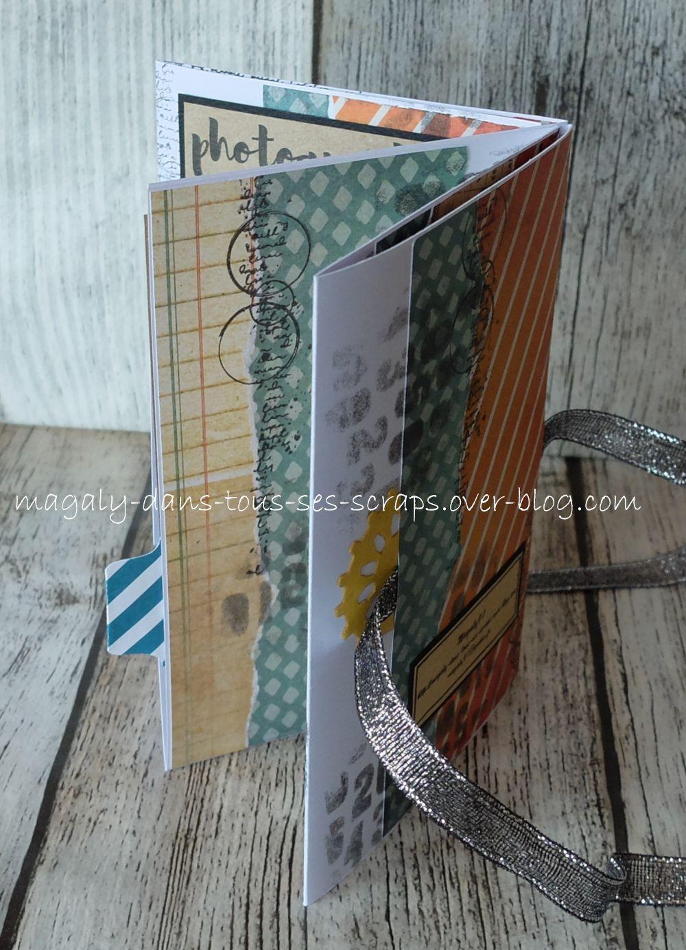 Mini-album variante {Pocket Book}