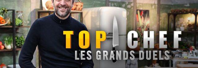 """Guillaume Sanchez de la saison 8 et Adrien Cachot de la saison 11 s'affrontent dans """"Top Chef : Les grands duels"""" ce soir sur M6"""