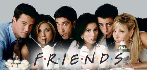 """Friends"" a 20ans, cheers!!!!"